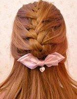 韩国潮流辫子发型绑法 韩式辫子发型扎法图解