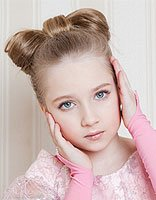 小女孩长头发扎法 长头发的既简单又好学的扎法