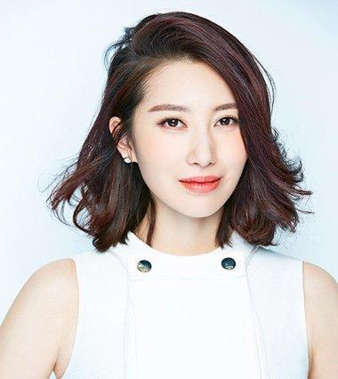 2017日韩中分短发发型图片 日韩中短发造型图片