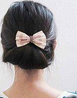 中年女性长发的扎法 中年人长发如何扎好看