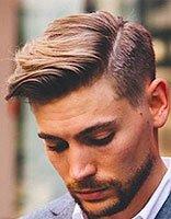 男士怎么样梳头发帅 帅气男生梳头发型图片