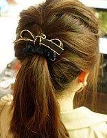 马尾发型种类图片和介绍 初中女生马尾发型的扎法