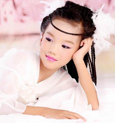 古代女童发型梳法图解 儿童漂亮发型怎么梳