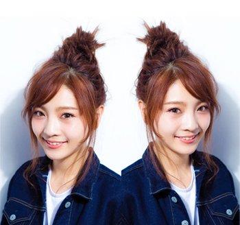 少女怎样梳头发好看又简单 90后少女怎么梳头发