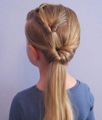 5岁小女孩发型怎么梳 小女孩梳头发发型步骤