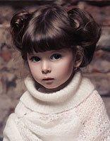 小女孩梳什么齐头帘发型最好看 给小女孩梳的时尚发型