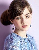 女孩长头发梳发发型 12~14岁儿童好看简单的梳发发型