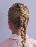 11岁儿童梳头发型 2017最新女童梳头发方法