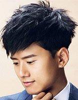 张杰最新烫发发型 2017年最流行的男生烫发发型