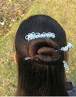 汉服发型教程 简单汉服发型