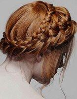 适合冬天的盘发与编发发型 冬季自己盘发发型大全