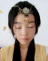 简单的古代少女发型 汉服简易古装发型图解