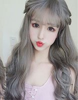 女脸长头发细毛发型 脸长头发稀留什么发型好看