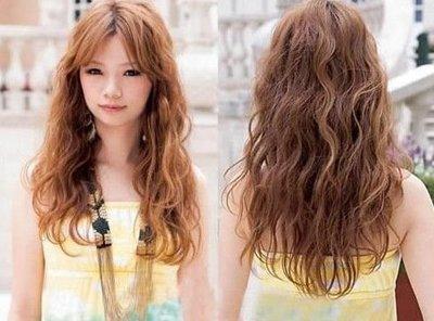 全烫卷发发型图片 发型图片女烫发全头卷