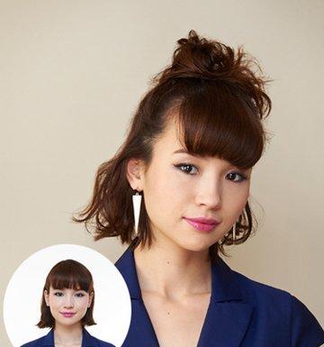 头顶尖圆脸适合的短发发型 适合圆脸的短发发型