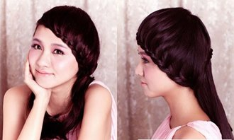 长头发有刘海如何编头发 有刘海长头发的简单编法