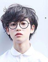 日系原宿美少年发型 漫画系男生后藤优太郎发型
