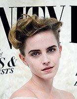 艾玛・沃特森罕见外翻盘发 彻底为你示范发型的重要性