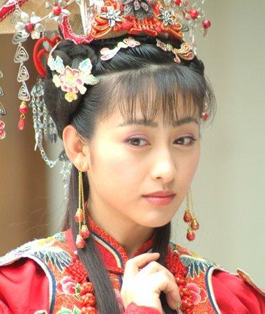 回族第一美女法提麦・雅琪发型 古装超有汉族韵味儿