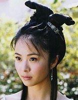 古装剧女神杨若兮变爱宝狂魔 中年妈妈短扎发发型