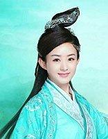 赵丽颖碧瑶角色做蜡像 比花千骨更美的仙范儿发型