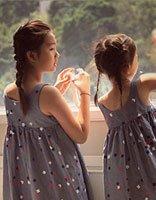 黄家姐妹的换装新发型 要降温从头开始最简便