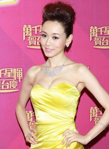 香港小姐杨思琦的各种发型 紧跟潮流时尚范的设计