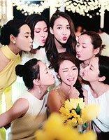 安以轩新婚白纱发型 参加典礼女星发型秀