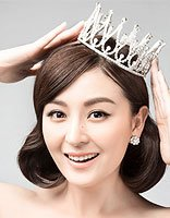 是女王也是新晋辣妈 戴娇倩写真更添熟女风