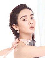 背头造型的赵丽颖也是仙气十足 赵丽颖长发发型圆脸也能美出新天际
