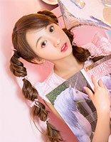 宋欣佳怡灯笼辫少女感满满 宋欣佳怡五款清新甜美发型