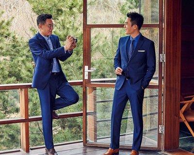 杜淳杜志国父子写真魅力十足 杜淳演绎型男标配发型