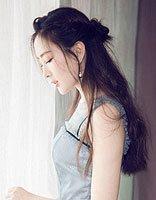 马漂亮编发美的冒泡 马苏超美腻的长发LOOK
