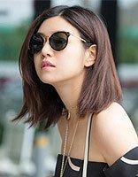 辣妈陈妍希短发一字肩造型似少女 陈妍希夏季短发服装搭配技巧