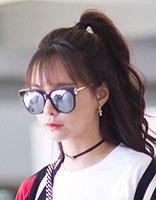 她是杜海涛心目中的唯一 沈梦辰刘海长发发型可爱又优雅