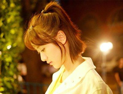 袁冰妍短发写真演绎清灵少女 袁冰妍示范女孩柔美发型