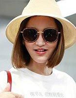 张歆艺的白T恤还有表白功能 张歆艺夏季短发发型御姐又