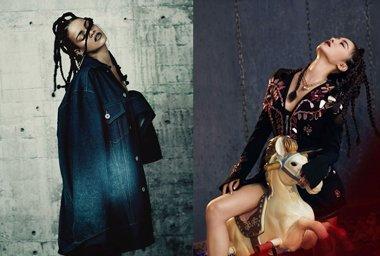 蔡依林模仿蕾哈娜成瘾? 蔡依林的这些发型蕾哈娜都梳过