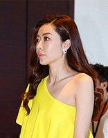 熊黛林现身活动黄裙+长发娇艳迷人 盘点熊黛林性感长发发型