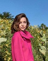 米兰达可儿变身沙漠之花 可儿演绎圆脸魅力发型
