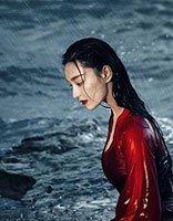 张馨予红裙湿发演绎别样魅力 张馨予唯美风长发发型