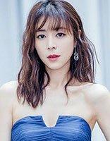 张静初中长发+海蓝色长裙优雅美腻 张静初淡雅气质发型
