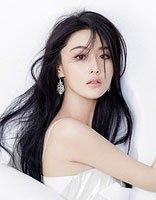 李晨求婚范冰冰张馨予却上热搜榜首 张馨予黑色长发发型妩媚清纯