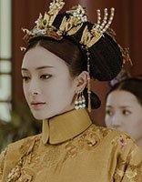 佘诗曼穿古装跳舞超有喜感 《延禧攻略》女明星示范清宫后妃发型