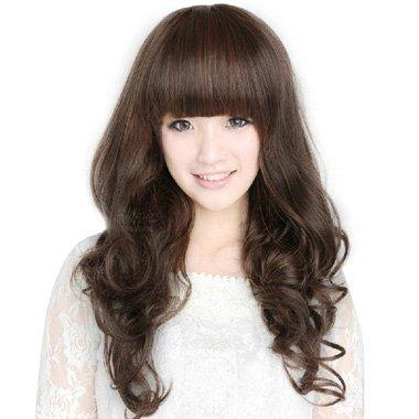 吹韩版发型的技巧 中发发型韩式设计图片