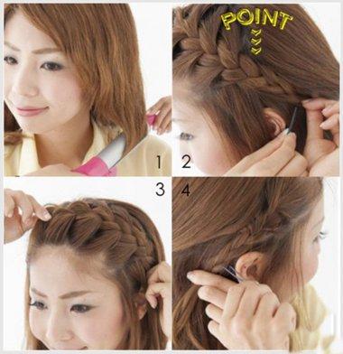 花式发型怎么抓 花式发型步骤图