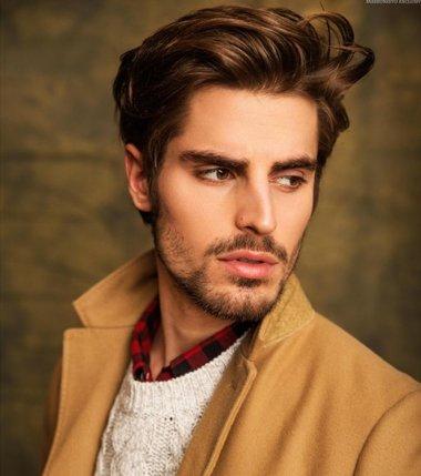 喜欢留胡子发型怎么弄 留胡子合适什么发型图片