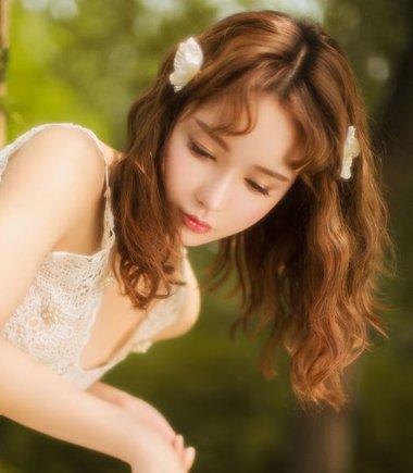 女生烫发类型图片 可爱的烫发图片