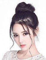 韩式长发花包发型扎法图解 新版韩版发型