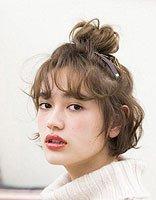 日式妹妹扎发 女生妹妹头怎么扎